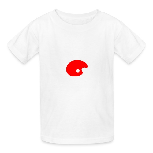 Smudge Red - Kids' T-Shirt