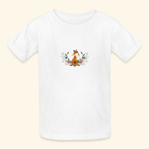 Flowers and Eve - Kids' T-Shirt
