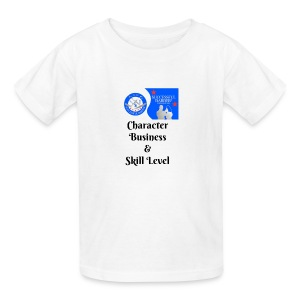 Character, Business & Skill Level - Kids' T-Shirt