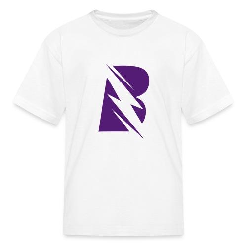 BRISIGHT CLASSIC PURPLE B - Kids' T-Shirt