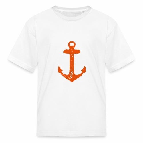 Test Vector Anchor - Kids' T-Shirt