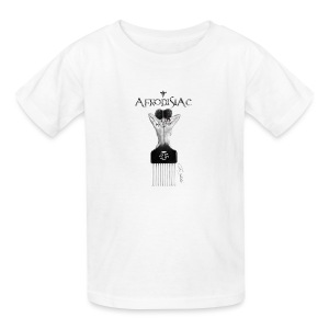 tshirtAfroArtD2 copy - Kids' T-Shirt