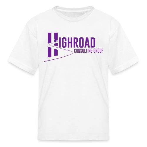 Highroad Logo Overlay Purple - Kids' T-Shirt