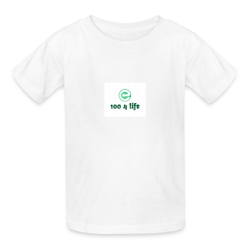 Kristen 4 life 100 subscriber celebration - Kids' T-Shirt