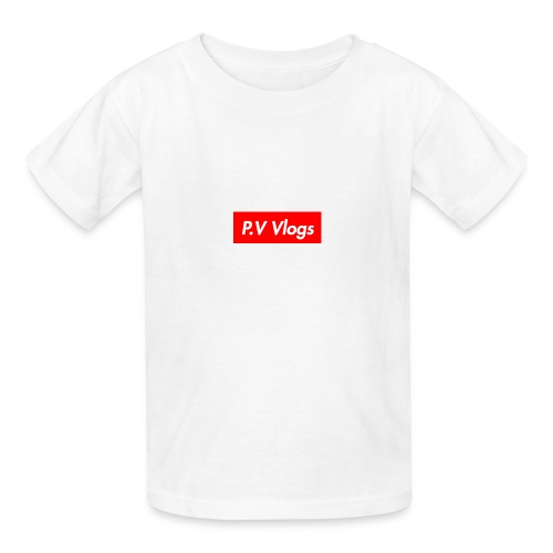 P.V Vlog - Kids' T-Shirt