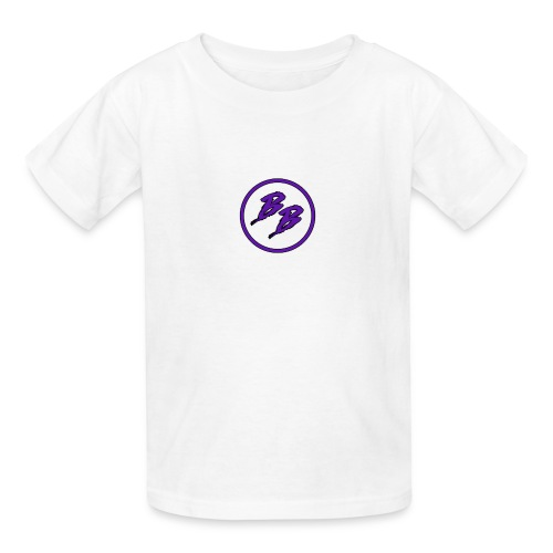 Simple Small Logo Design - Kids' T-Shirt