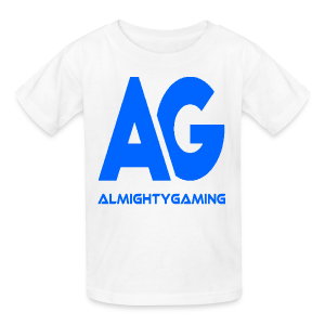 AlmightyGaming (Blue Edition!) - Kids' T-Shirt