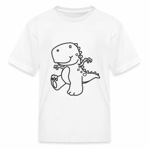 Cute Dinosaur - Kids' T-Shirt