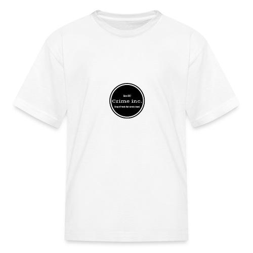 Crime Inc Small Design - Kids' T-Shirt