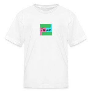 Thouser square logo - Kids' T-Shirt
