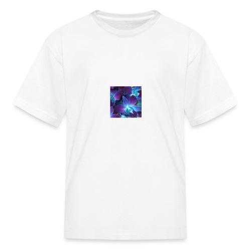 Flornal orchid designs - Kids' T-Shirt
