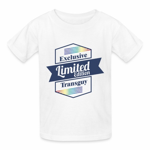 Limited Edition Transguy - Kids' T-Shirt