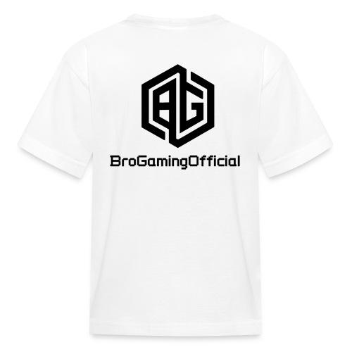 BroGamingOfficial Merch - Kids' T-Shirt
