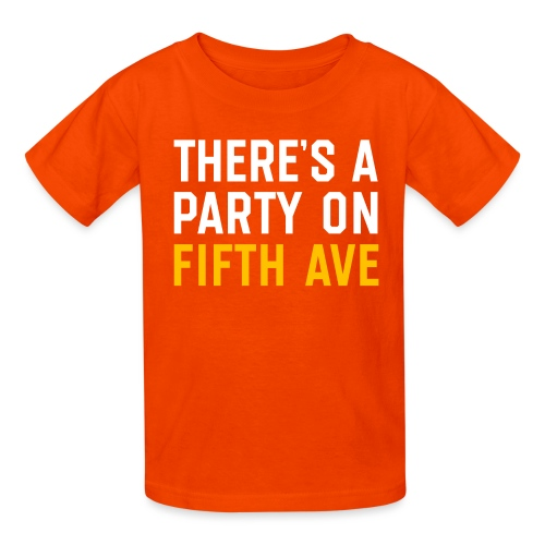 There's a Party on Fifth Ave - Kids' T-Shirt