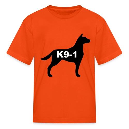 k9-1 Logo Large - Kids' T-Shirt