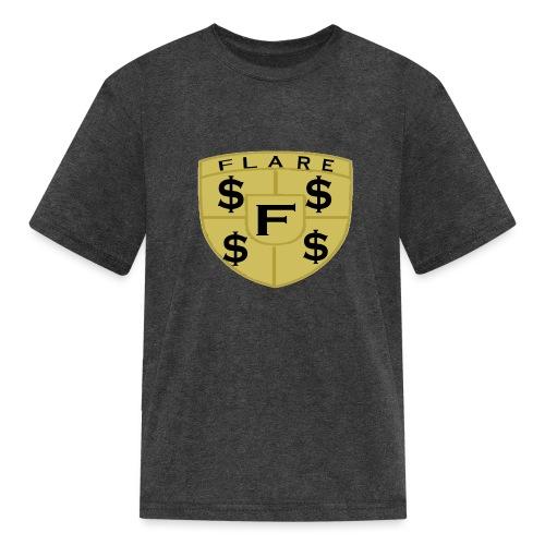 FLARE Shield Logo - Kids' T-Shirt