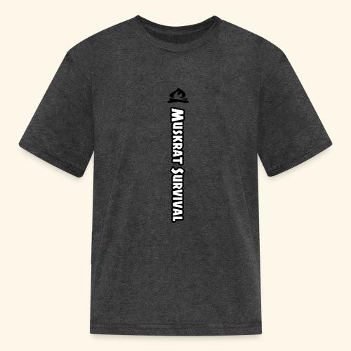 Muskrat Survival Tall - Kids' T-Shirt