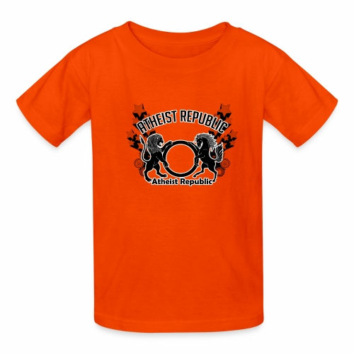 Atheist Republic Logo - Shooting Stars - Kids' T-Shirt