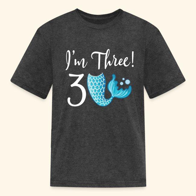 Temps partiel Mermaid tshirt Rainbow 3 ans 13yrs et Femmes S-XXL Mermaid