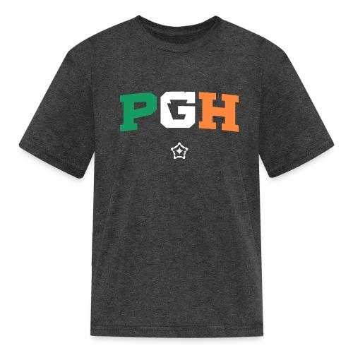 Block PGH - Irish Flag - Kids' T-Shirt