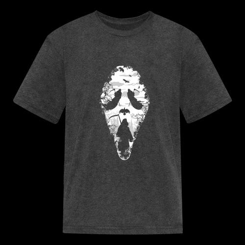 Reaper Screams | Scary Halloween - Kids' T-Shirt