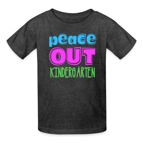 Kreative In Kinder Peace Out - Kids' T-Shirt