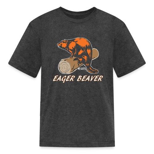 Eager Beaver - Kids' T-Shirt