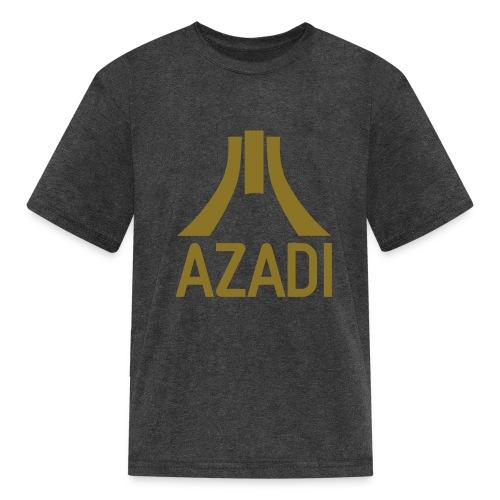 Azadi retro stripes - Kids' T-Shirt