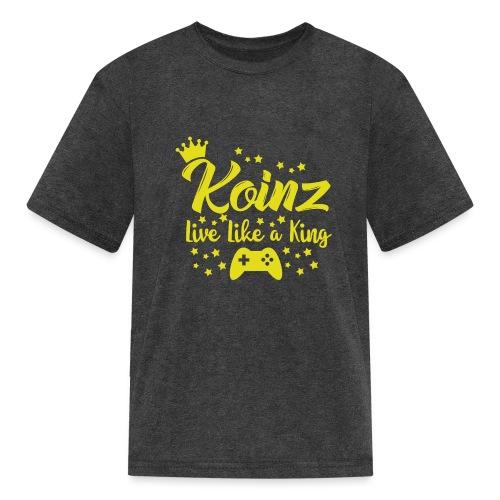 Live Like A King - Kids' T-Shirt