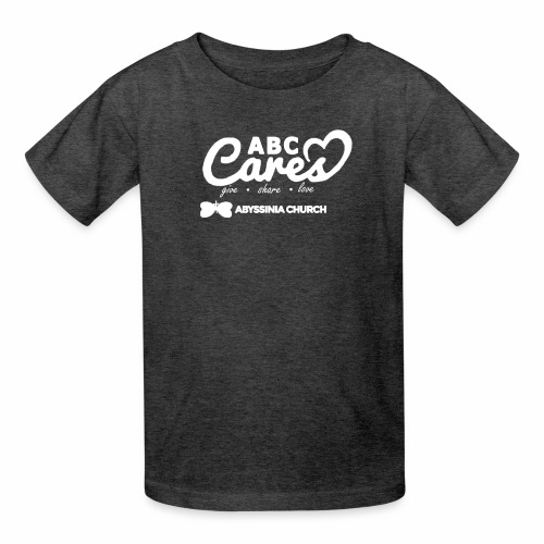 ABC Cares (Reversed) - Kids' T-Shirt