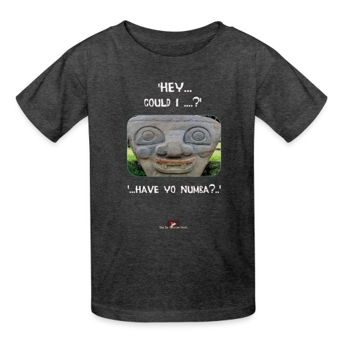 The Hey Could I have Yo Number Alien - Kids' T-Shirt