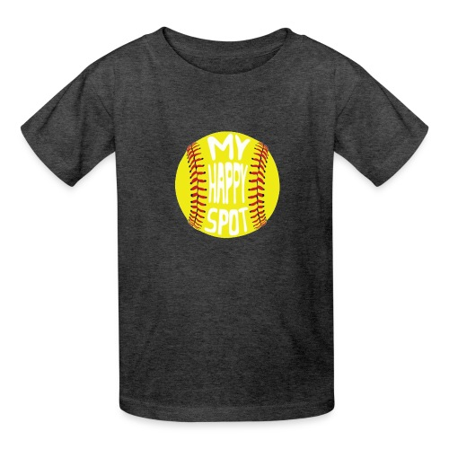 People s Republic of Burlington Softball - Kids' T-Shirt