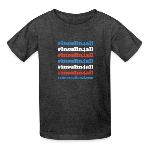 #insulin4all - Kids' T-Shirt