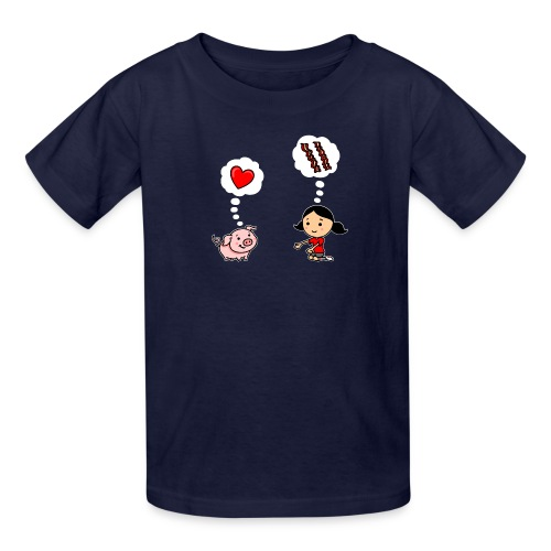 For the Love of Bacon - Kids' T-Shirt
