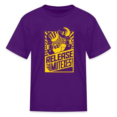 Release the Mutexes Negative - Kids' T-Shirt