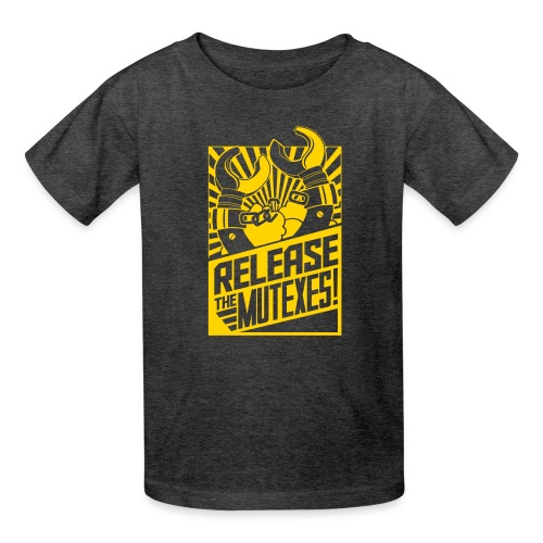 Release the Mutexes Negative - Kids' T-Shirt
