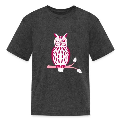 Winky Owl - Kids' T-Shirt