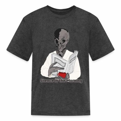 silenceinthemorning - Kids' T-Shirt