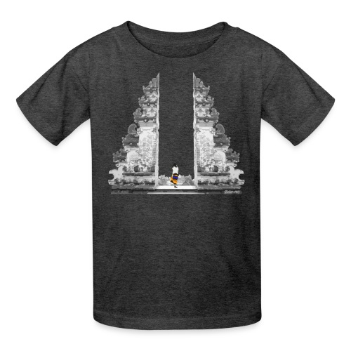 Temple on Bali - Kids' T-Shirt