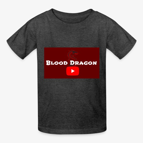 Fire Red BloodDragon logo - Kids' T-Shirt