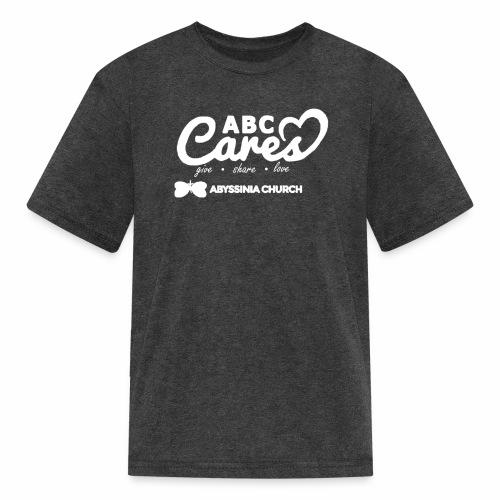 ABC Cares (Reversed) - Kids' T-Shirt