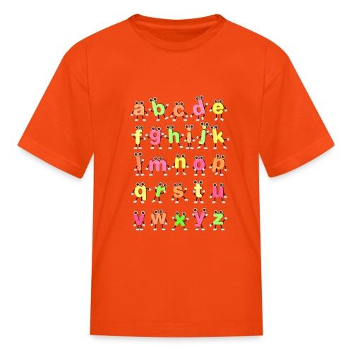 Alphabet Dancing - Kids' T-Shirt