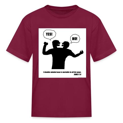 James 1 8 - Kids' T-Shirt