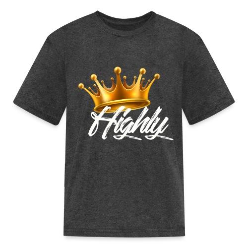 Highly Crown Print - Kids' T-Shirt