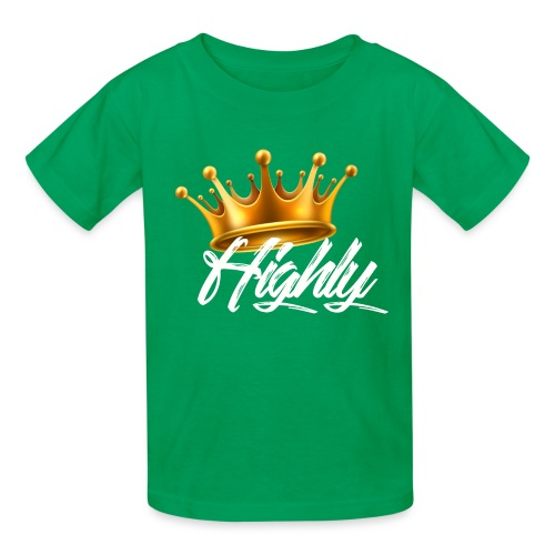Highly Crown Print - Kids' T-Shirt