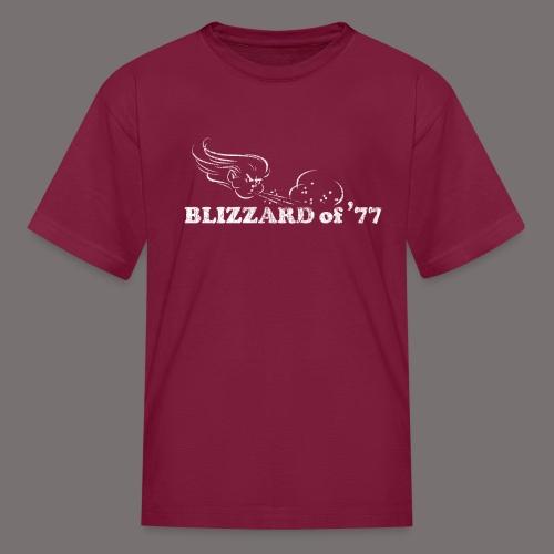 Blizzard of 77 - Kids' T-Shirt