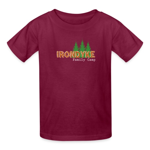 IrondykeNewLogo full png - Kids' T-Shirt