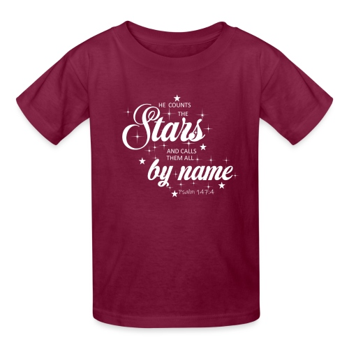 Psalm 147:4 - Kids' T-Shirt