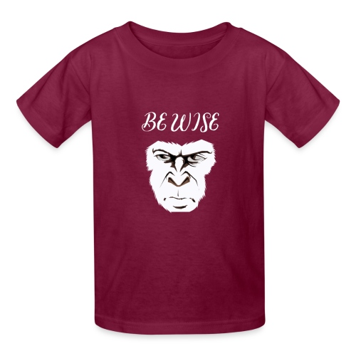 Be Wise - Kids' T-Shirt
