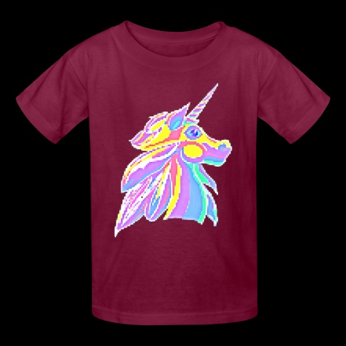 Pixellent Unicorn - Kids' T-Shirt